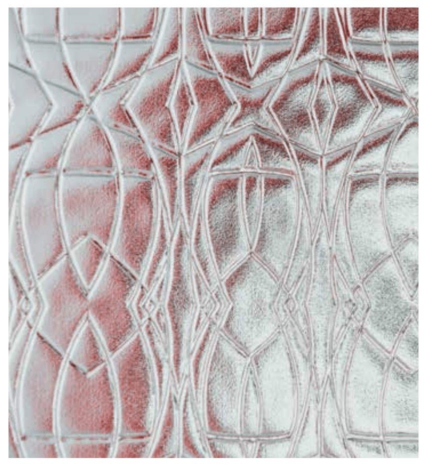 Pilkington patterend glass, Glasgow