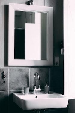 bathroom wall mirror - d 7 n glass co, Glasgow