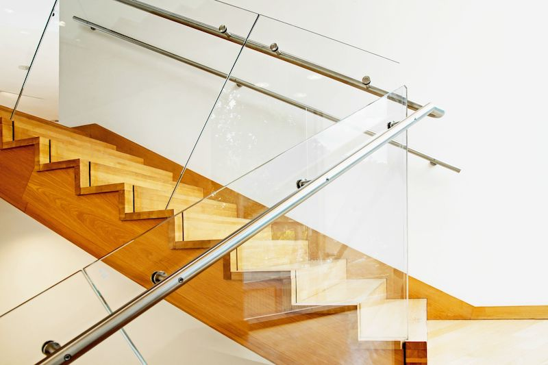 Glass stair balustrade Glasgow